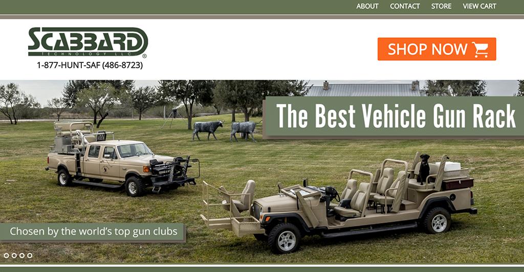 Scabbard website screenshot