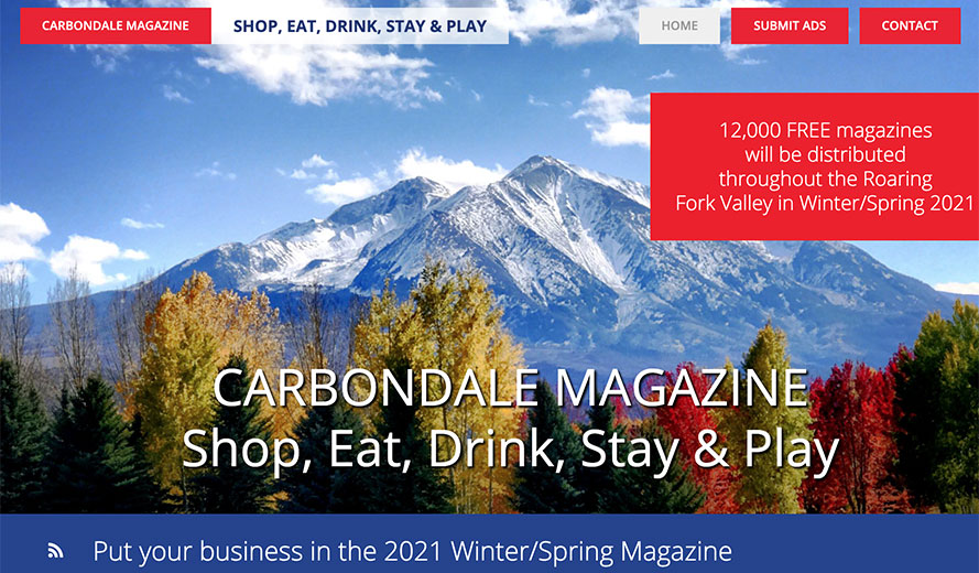 CarbondaleMagazine.com website screenshot